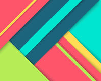 Abstract background with colorful layers. Royalty Free Stock Photography