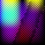 Abstract background colorful lights on black, Stock Photography