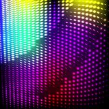 Abstract background colorful lights on black, Royalty Free Stock Photos