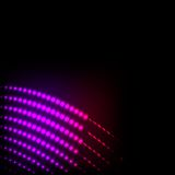 Abstract background colorful lights on black Stock Images