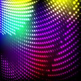 Abstract background colorful lights on black, Stock Image
