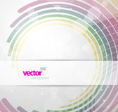 Abstract background with colorful lines. Vector art royalty free illustration