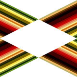 Abstract background of colorful lines. Autumn shades. The empty space in the middle Royalty Free Stock Photo