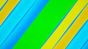 Abstract background with colorful lines Stock Image