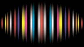 Abstract background with colorful lines - eps 10. Abstract black background with colorful lines - vector Royalty Free Stock Images