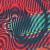 Abstract background with colorful lines Stock Photo