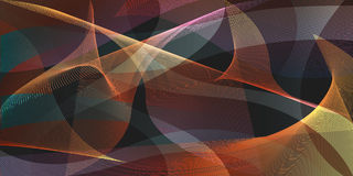 Abstract background. Colorful motion mesh overlap background Royalty Free Stock Photography