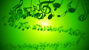 Abstract Background with Colorful Music notes. An Abstract Background with Colorful Music notes Stock Images
