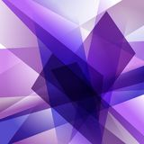 Abstract background with colorful overlapping layers. Abstract background with colorful violet overlapping transparent layers Stock Photo