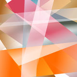 Abstract background with colorful overlapping layers Stock Photos