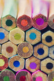 Abstract background of colorful pencils Royalty Free Stock Image