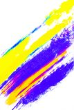 Abstract background of colorful pigment on white background. Place for your design royalty free illustration
