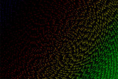 Abstract background with colorful pixel shading. Abstract background graphic with colorful pixel shading Stock Photography
