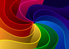 Abstract background - Colorful rays vector Royalty Free Stock Photos