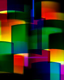 Abstract background. Colorful rectangles, blur colors vector illustration
