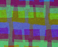 Abstract background with colorful rectangles. In naive style Stock Photography