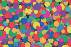 Abstract Background. A Colorful Abstract Background with Scattered Circles, Dots Royalty Free Stock Images