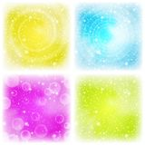Abstract background, colorful, set Royalty Free Stock Photo