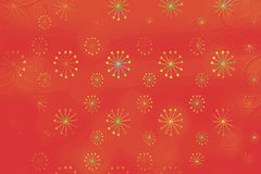 Abstract background with colorful shapes and elements Stock Photo