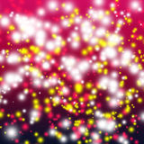 Abstract background. With colorful shiny spots royalty free illustration