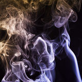 Abstract background, colorful smoke Stock Images