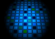 Abstract background with colorful square vector illustration Stock Photos