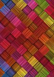 Abstract background with colorful squares. Vector illustration Stock Photos
