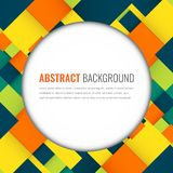 Abstract background with colorful squares. Business design template. Vector. Illustration Royalty Free Stock Image