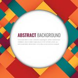 Abstract background with colorful squares. Business design template. Vector. Illustration Stock Illustration