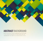 Abstract background with colorful squares. Business design template. Vector. Illustration Royalty Free Stock Photos