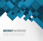 Abstract background with colorful squares. Business design template. Vector. Illustration Royalty Free Stock Images