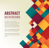 Abstract background with colorful squares. Business design template. Vector. Illustration Stock Photo