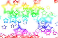 Abstract background with colorful star. Texture stock illustration