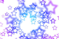 Abstract background with colorful star Stock Images