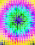 Abstract Background. A colorful tie dye psychedelic background royalty free illustration
