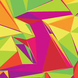 Abstract background with colorful triangles for magazines, bookl Royalty Free Stock Images