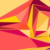 Abstract background with colorful triangles for magazines, booklets or mobile lock screen. Abstract background with colorful triangles for magazines, booklets or Royalty Free Stock Photography