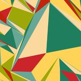 Abstract background with colorful triangles for magazines, booklets or mobile lock screen. Abstract background with colorful triangles for magazines, booklets or royalty free illustration