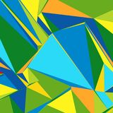 Abstract background with colorful triangles for magazines, booklets or mobile lock screen. Abstract background with colorful triangles for magazines, booklets or vector illustration