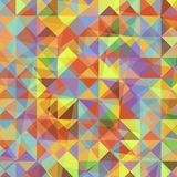 Abstract background with colorful triangles. Stock vector Royalty Free Stock Photography