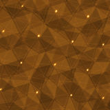 Triangular low poly background Royalty Free Stock Photo