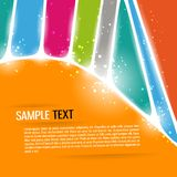 Abstract background. Colorful vector illustration Stock Photography