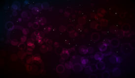 Abstract background. Abstract colorful wallpaper with many lights and circles Royalty Free Stock Photos
