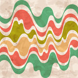 Abstract background. Colorful waves. Royalty Free Stock Photography