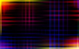 Abstract background - colorful waves Stock Images