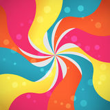 Abstract background with colorful waves. Creative abstract background with colorful waves Stock Images
