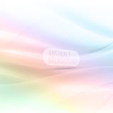 Abstract background colorful waves and lines eps10 Royalty Free Stock Photography