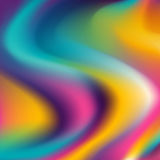 Abstract background - colorful waves Royalty Free Stock Photo