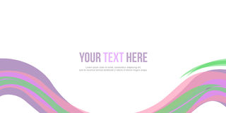 Abstract background colorful website header. Vector illustration Stock Images