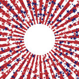 Abstract background in colors of american flag. Independence Day or Veterans Day theme background. Stock Photos